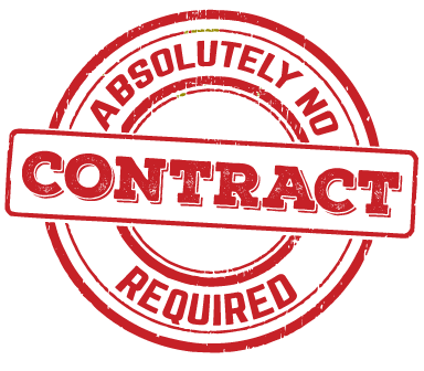 no contracts required for security systems