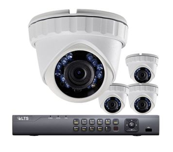 HD security camera package.  no contract required.