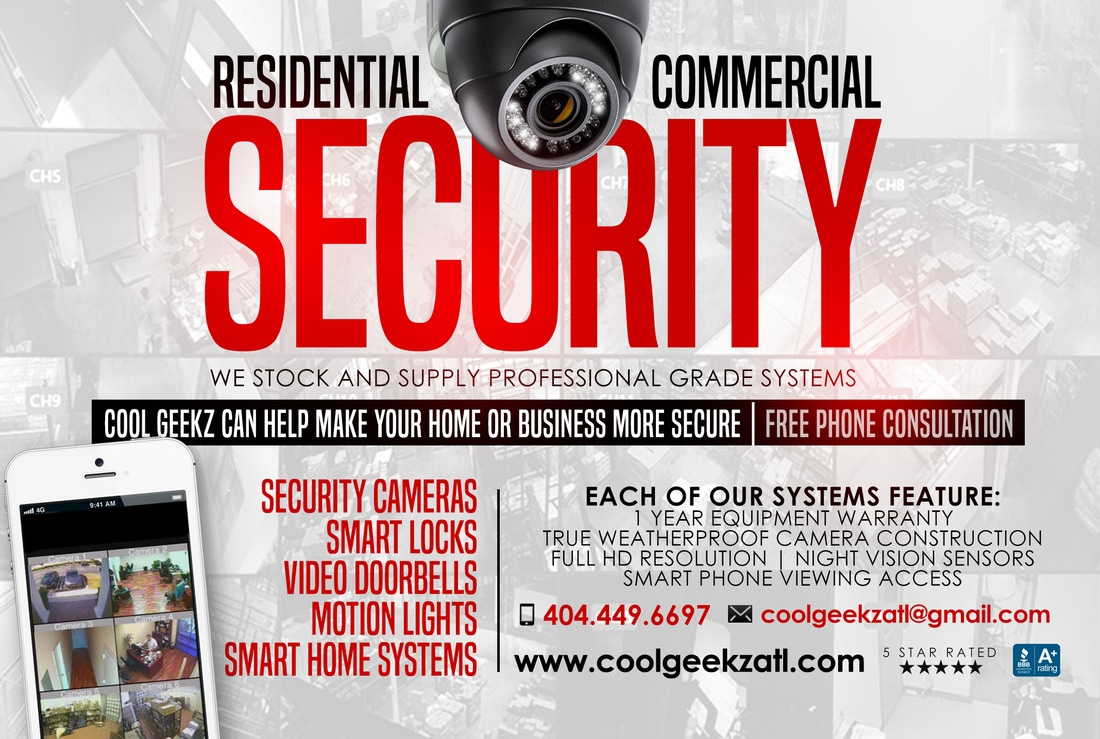 cool geekz offers hd security camera systems.  Equipment warranties.  No contracts.  Video doorbells, motion lights.  hidden cameras, camera flood lights, nanny camera, wifi cameras, and more.